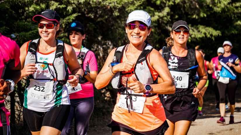 group of people doing marathon